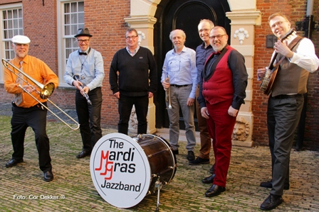THE MARDI GRASS JAZZ BAND - BELGIE